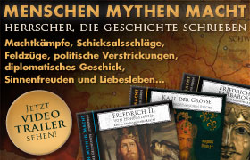 Menschen Mythen Macht – Herrscher die Geschichte schrieben